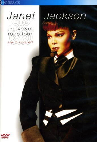 JANET JACKSON - THE VELVET ROPE TOUR (DVD)