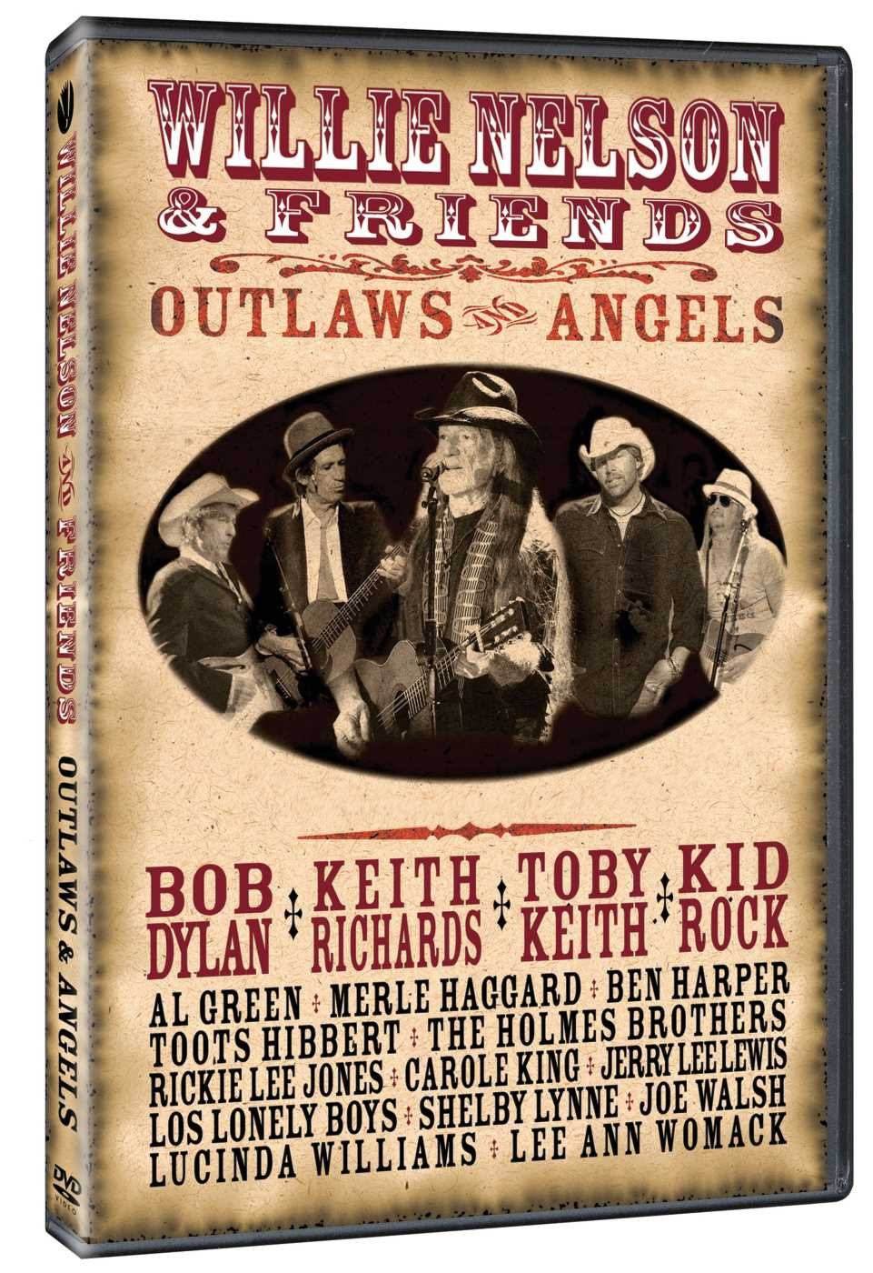 WILLIE NELSON & FRIENDS - OUTLAWS ANGELS (DVD)