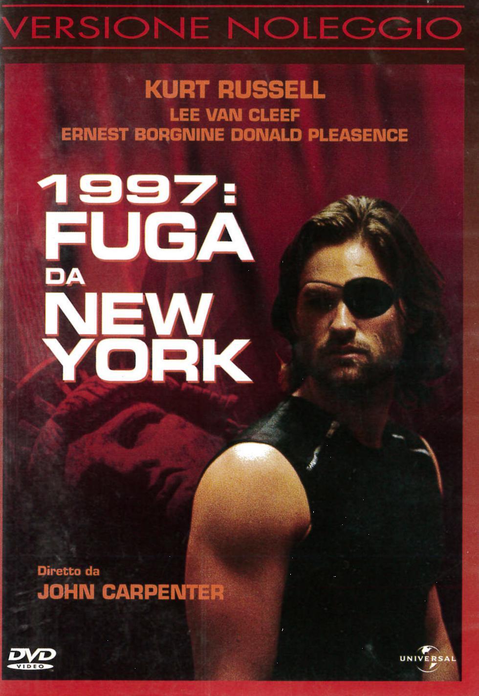 1997 FUGA DA NEW YORK - EX NOLEGGIO (DVD)