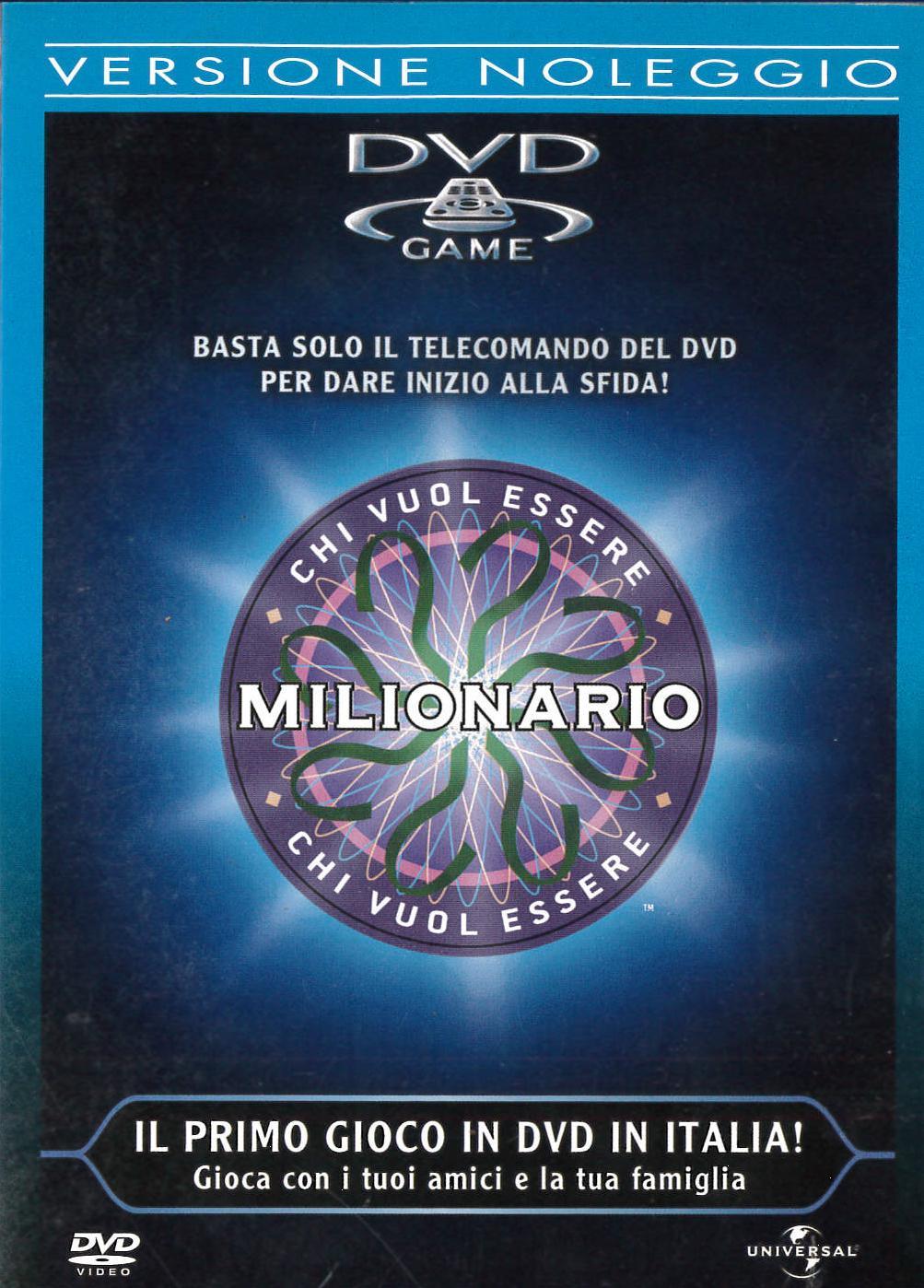 CHI VUOLE ESSERE MILIONARIO? - EX NOLEGGIO (DVD)