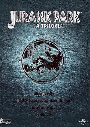 COF.JURASSIC PARK LA TRILOGIA (DVD)