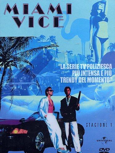 COF.MIAMI VICE - STG.01 (8DVD) (DVD)