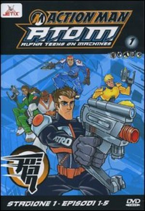ACTION MAN - A.T.O.M. - STG.01 VOL.01 (EPS 01-05) (DVD)