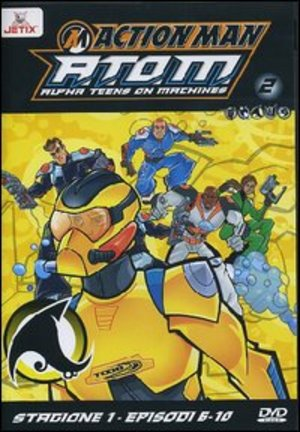 ACTION MAN - A.T.O.M. - STG.01 VOL.02 (EPS 06-10) (DVD)