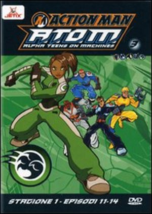 ACTION MAN - A.T.O.M. - STAGIONE 01 VOL.03 (EPS 11-14) (DVD)