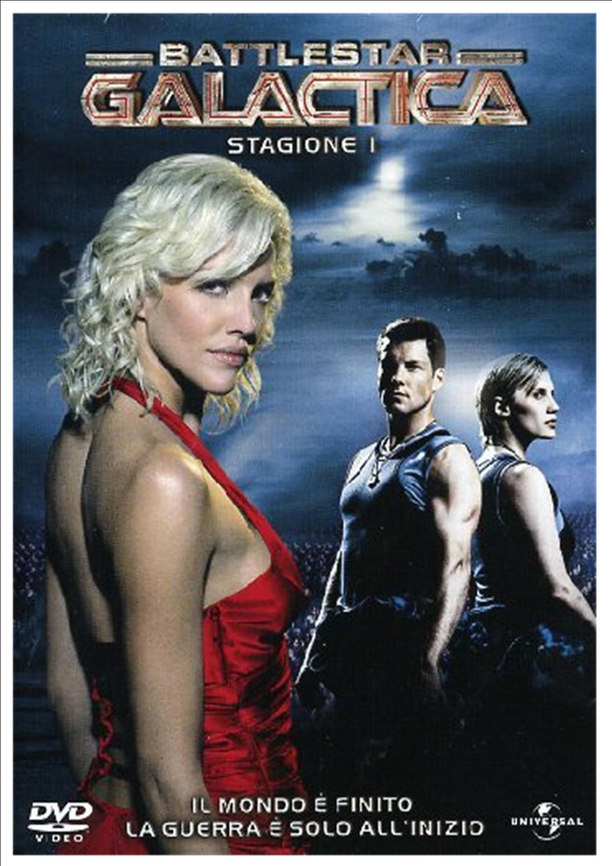 COF.BATTLESTAR GALACTICA - STAG.01 (4 DVD) (DVD)