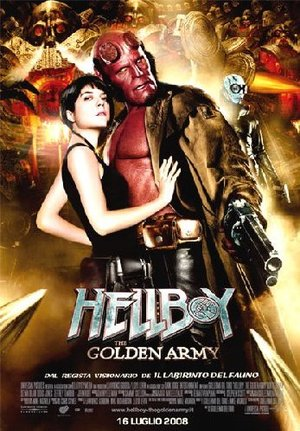 HELLBOY - THE GOLDEN ARMY (DVD)