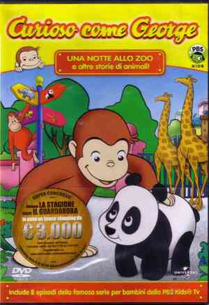 CURIOSO COME GEORGE VOL.1 (DVD)