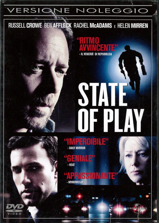STATE OF PLAY - EX NOLEGGIO (DVD)