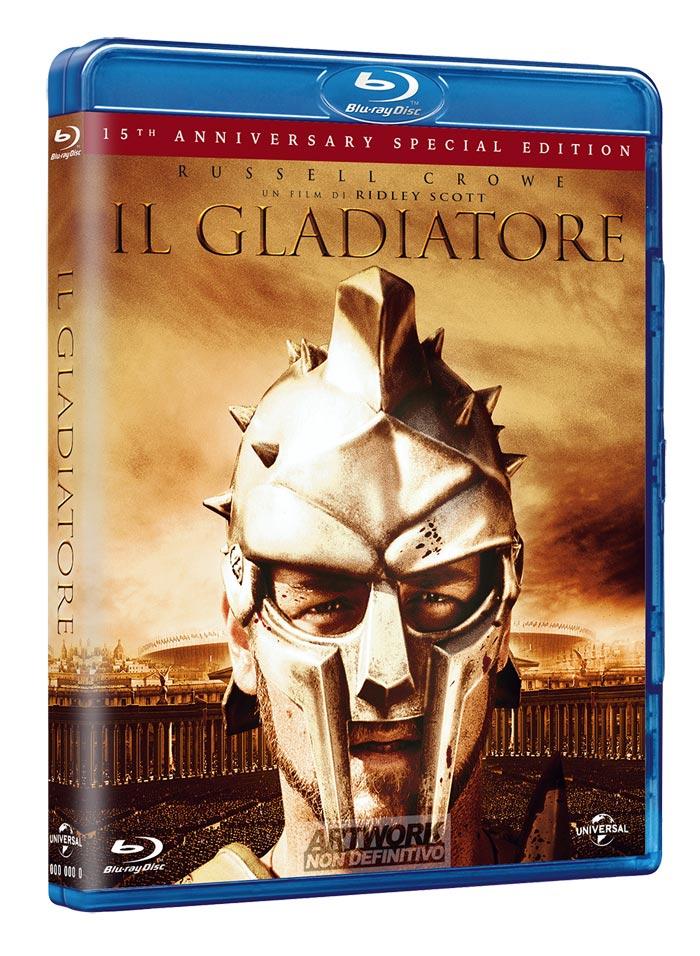 IL GLADIATORE (15 ANNIVERSARY SP.ED.) ( 1BLU-RAY )