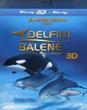 DELFINI E BALENE - LA TRIBU' DEGLI OCEANI (REAL 3D) (BLU-RAY )