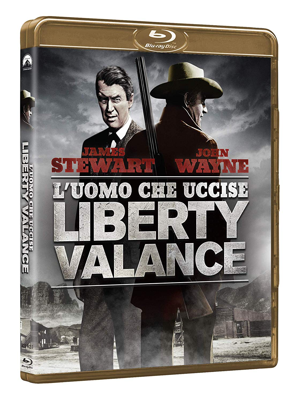 L'UOMO CHE UCCISE LIBERTY VALANCE (BLU-RAY)