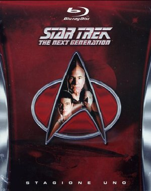 COF.STAR TREK - THE NEXT GENERATION - STAGIONE 01 (6 BLU-RAY)