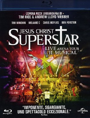 JESUS CHRIST SUPERSTAR LIVE ARENA TOUR - IL MUSICAL (BLU-RAY)