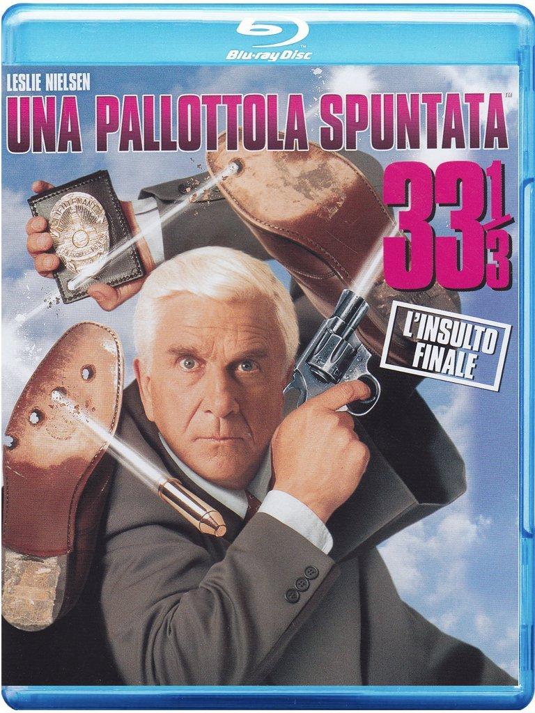 UNA PALLOTTOLA SPUNTATA 33 1/3 - L'INSULTO FINALE (BLU-RAY)