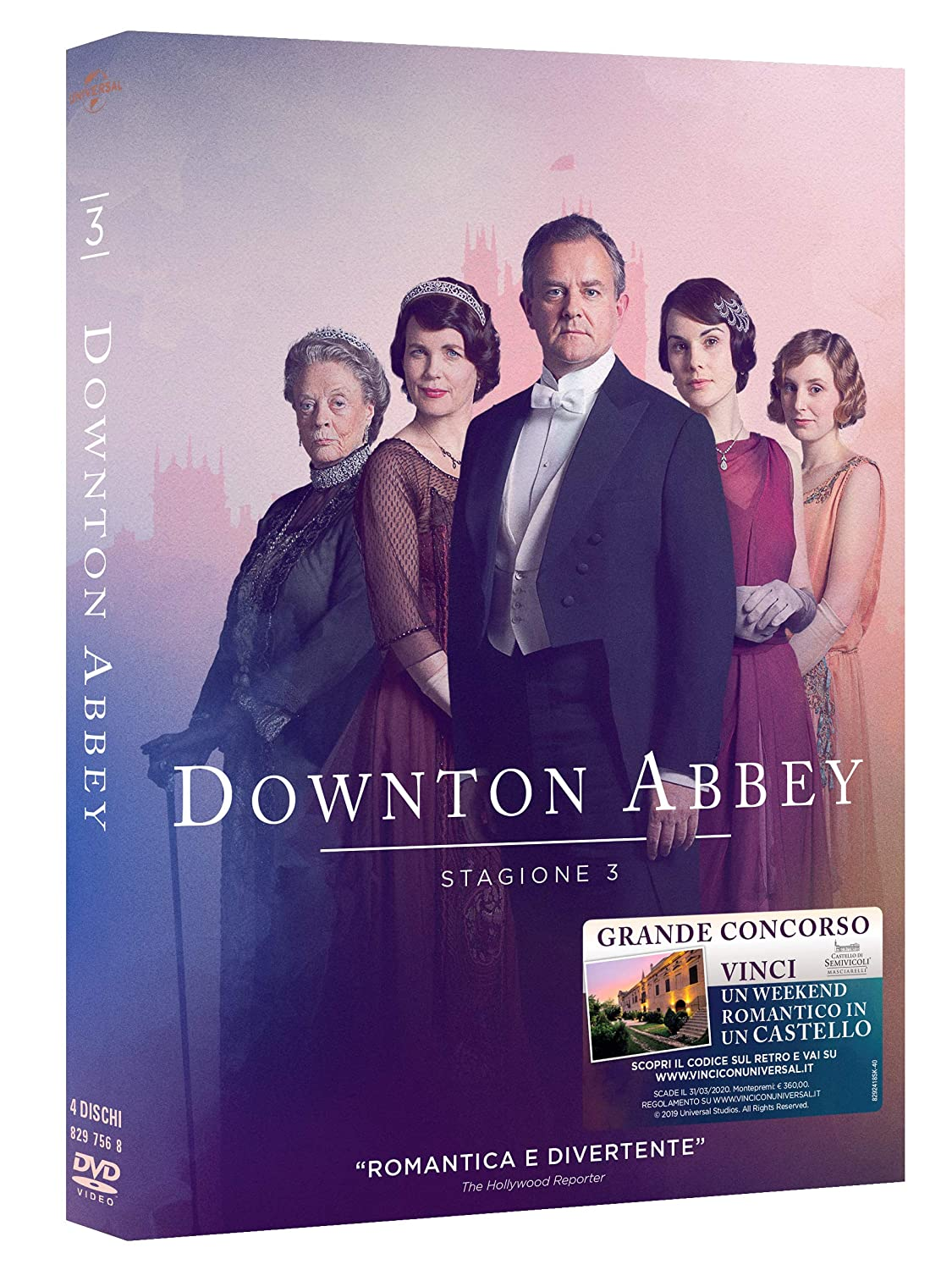 COF.DOWNTON ABBEY - STAGIONE 03 (4 DVD) (DVD)