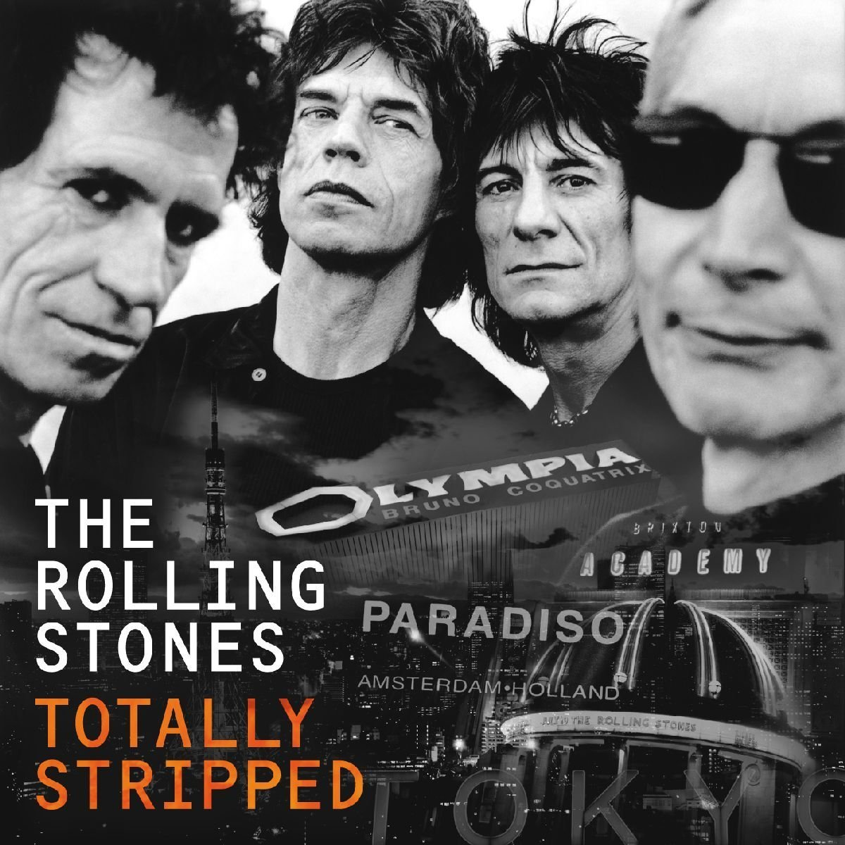 THE ROLLING STONES - TOTALLY STRIPPED (CD+DVD) (CD)