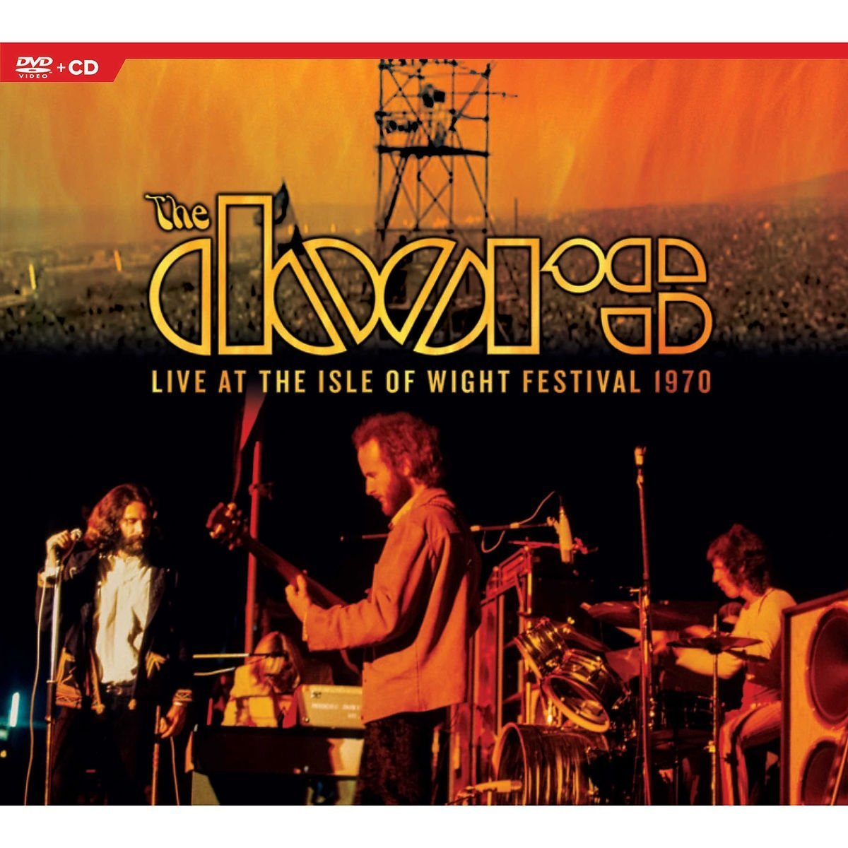 DOORS (THE) - LIVE AT THE ISLE OF WIGHT (CD+DVD) (CD)