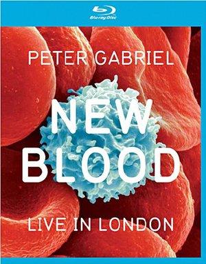 PETER GABRIEL - NEW BLOOD LIVE IN LONDON -BD+DVD