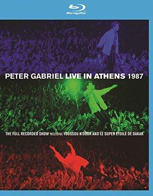PETER GABRIEL - LIVE IN ATHENS 1987 -BD+DVD