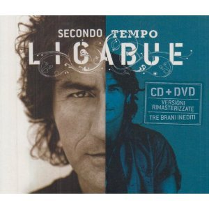 LIGABUE - SECONDO TEMPO BEST +3INEDITI -CD+DVD 2CD (CD)