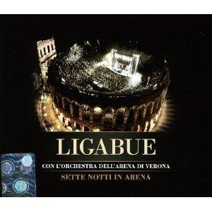 LIGABUE - SETTE NOTTI IN ARENA -CD+DVD (CD)