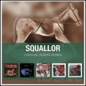 SQUALLOR - ORIGINAL ALBUM SERIES -5CD (CD)