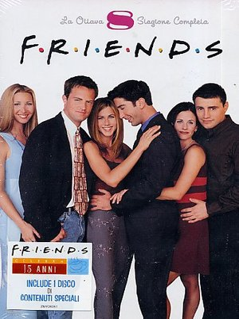 COF.FRIENDS - STAGIONE 08 (5 DVD) (DVD)