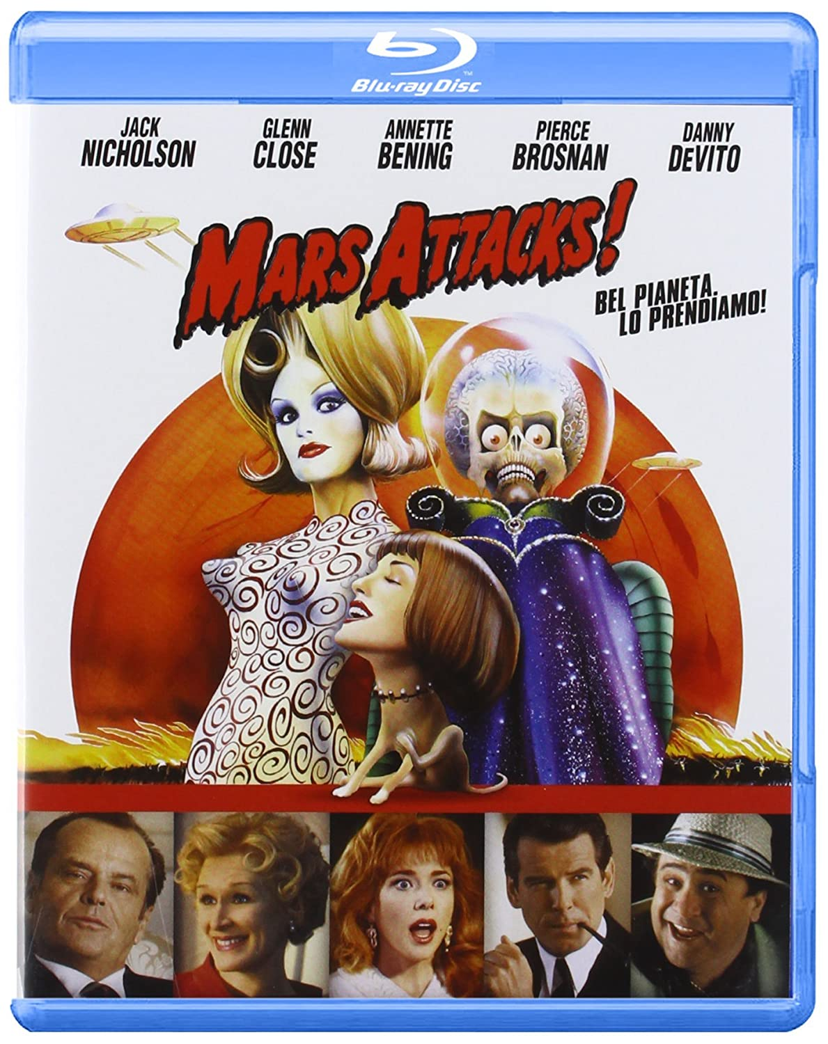 MARS ATTACKS! (BLU-RAY )