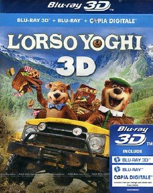 L'ORSO YOGHI (REAL 3D) (2 BLU-RAY + COPIA DIGITALE)