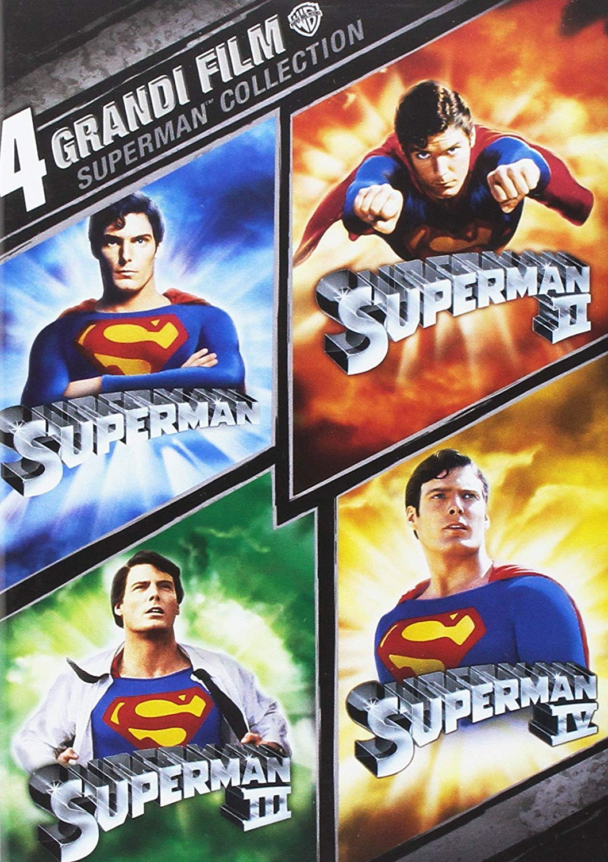 COF.SUPERMAN COLLECTION (4 DVD) (DVD)