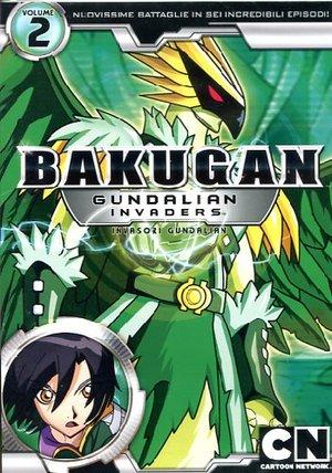 BAKUGAN - INVASORI GUNDALIAN - STAGIONE 01 #02 (DVD)