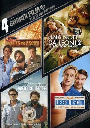 COF.TUTTI DA RIDERE (4 DVD) (DVD)
