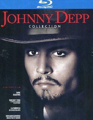 COF.JOHNNY DEPP - LA COLLEZIONE (4 BLU-RAY)
