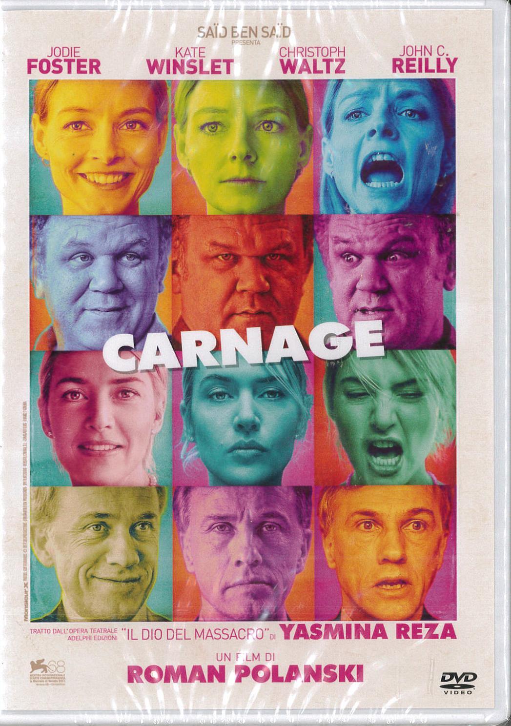 CARNAGE (DVD)
