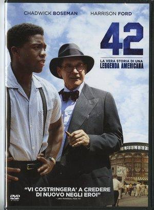 42 - LA VERA STORIA DI UNA LEGGENDA AMERICANA (DVD)