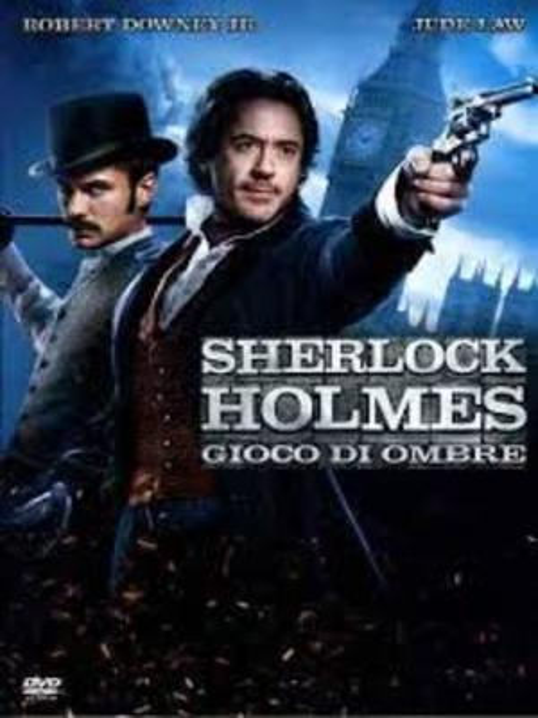 SHERLOCK HOLMES - GIOCO DI OMBRE (BLU-RAY)