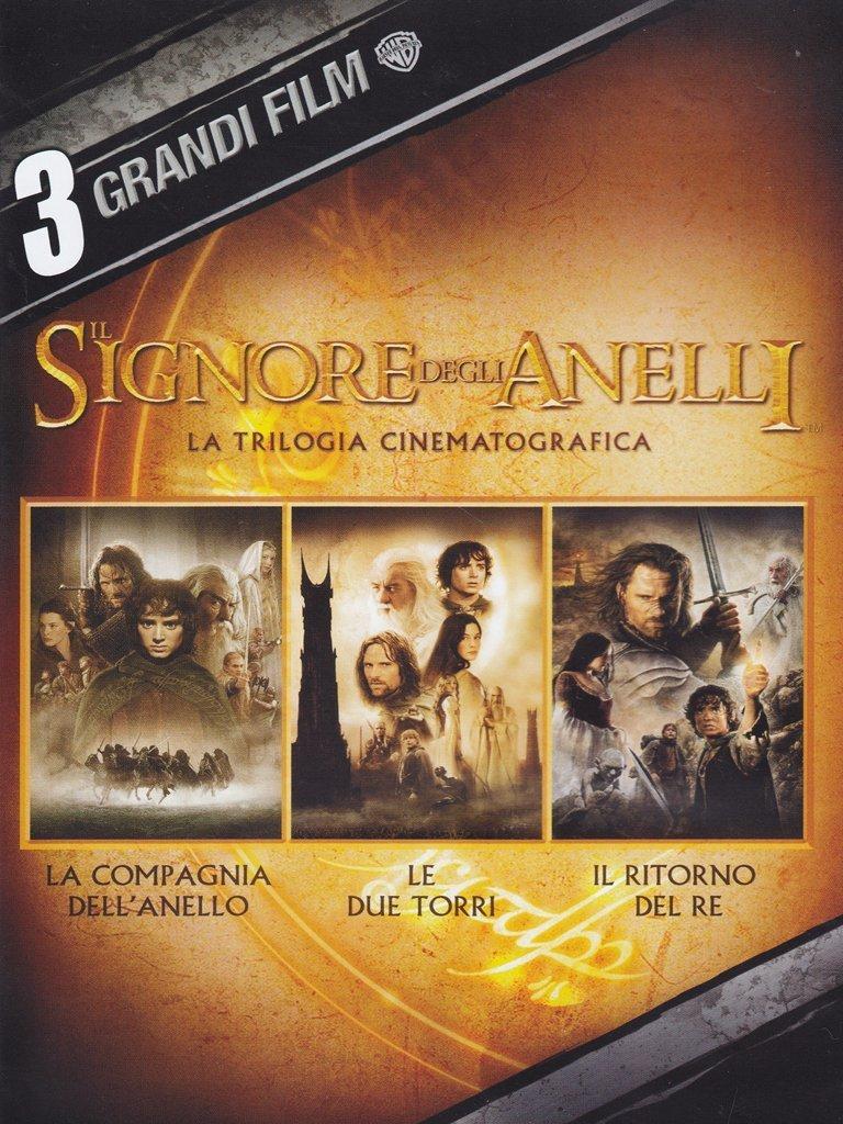 COF.IL SIGNORE DEGLI ANELLI - 3 GRANDI FILM (3 DVD) (DVD)