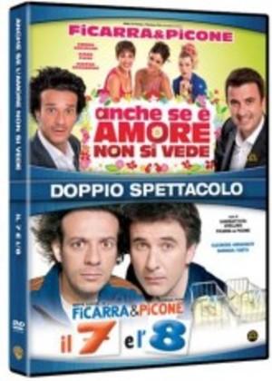 COF.IL 7 E L'8 / ANCHE SE E' AMORE NON SI VEDE (2 DVD) (DVD)