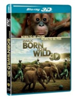 IMAX - BORN TO BE WILD 3D (BLU-RAY 3D)