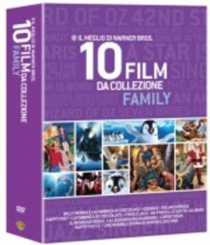 COF.WARNER BROS. - 10 FILM DA COLLEZIONE FAMILY (10 BLU-RAY)