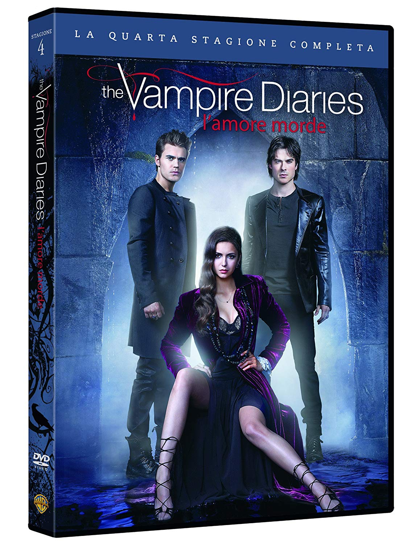 COF.THE VAMPIRE DIARIES - STAG. 04 (5 DVD) (DVD)