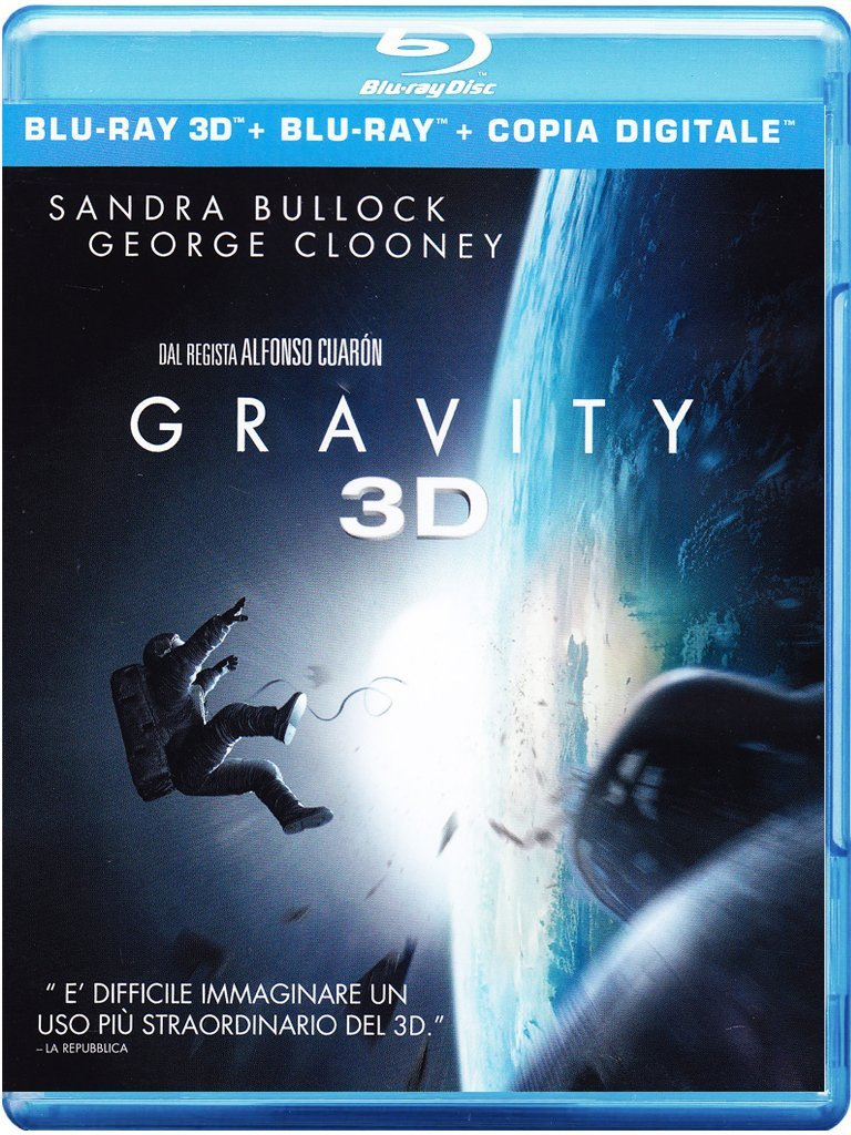 GRAVITY (BLU-RAY 3D)