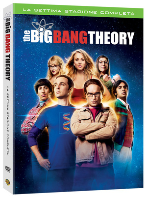 COF.THE BIG BANG THEORY - STAG.07 (3 DVD) (DVD)