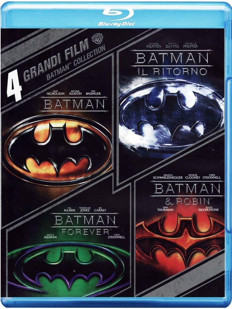 COF.BATMAN - 4 GRANDI FILM (4 BLU-RAY)