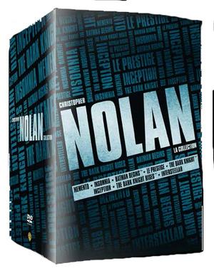 COF.CHRISTOPHER NOLAN BOXSET (8 DVD) (DVD)
