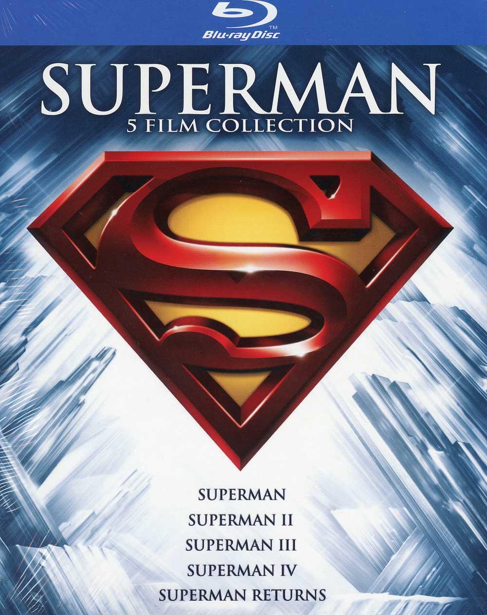 COF.SUPERMAN ANTHOLOGY (STANDARD EDITION) (5 BLU-RAY)