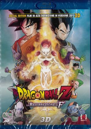 DRAGON BALL Z - LA RESURREZIONE DI F (3D) (BLU-RAY 3D)