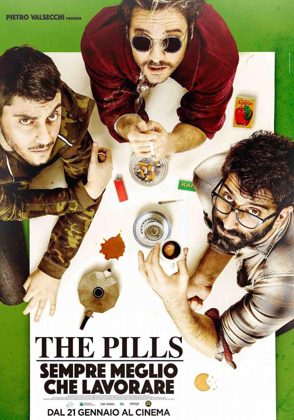 THE PILLS - SEMPRE MEGLIO CHE LAVORARE (DVD)