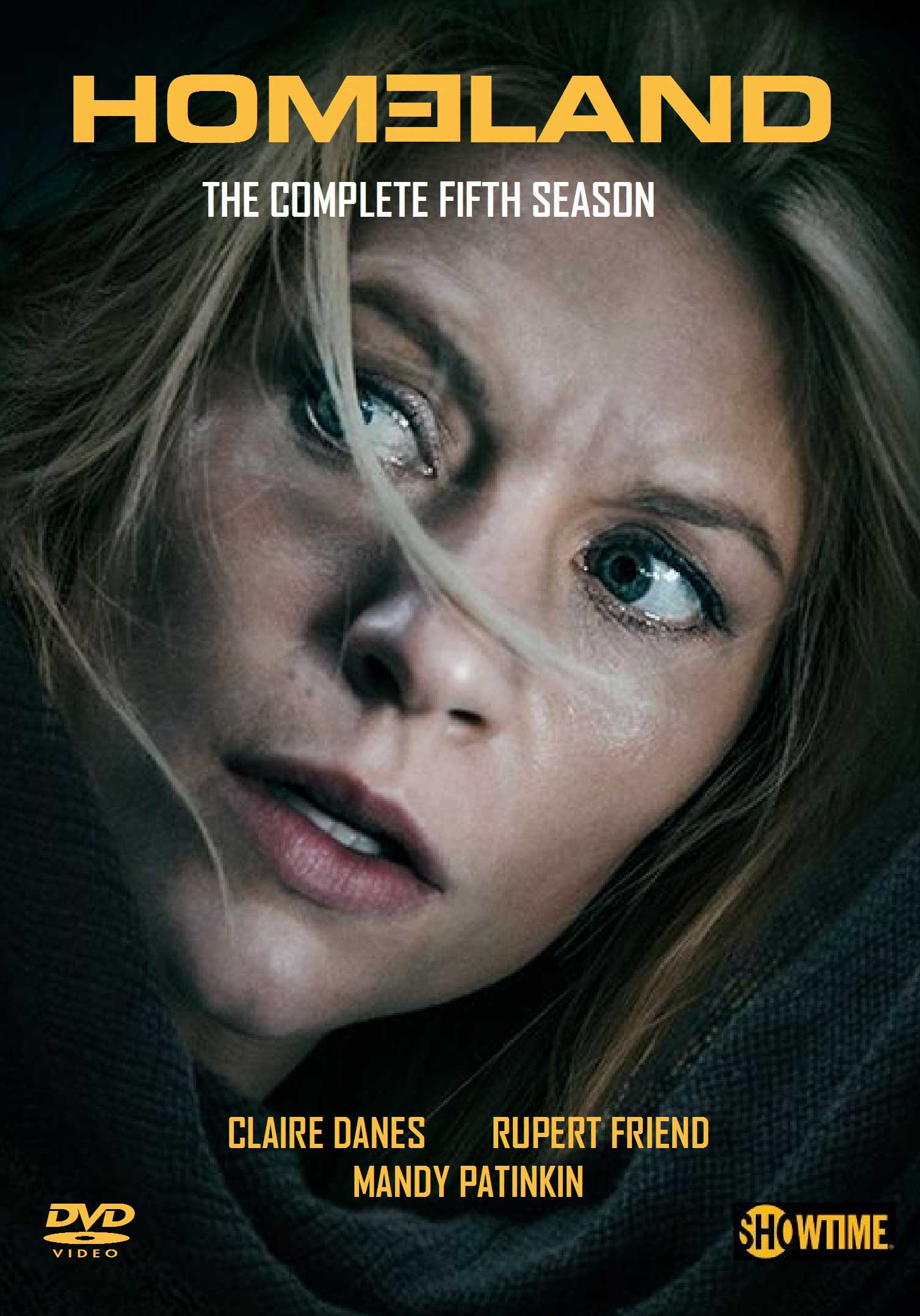 COF.HOMELAND - STAGIONE 5 (4 DVD) (DVD)